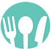 Logo of utensils